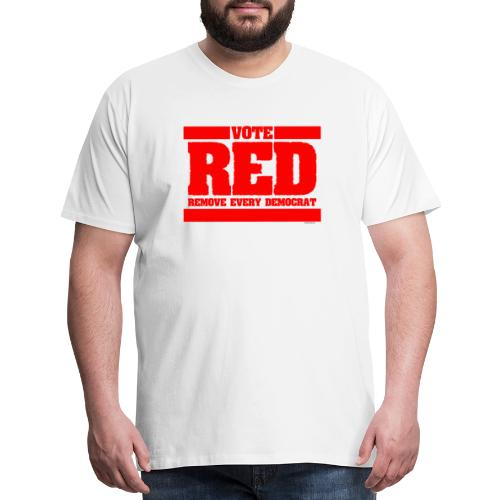 Remove every Democrat - Men's Premium T-Shirt