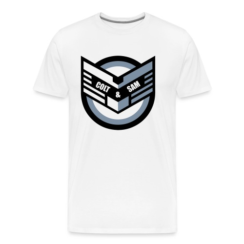 COLT AND SAM LOGO - Men's Premium T-Shirt