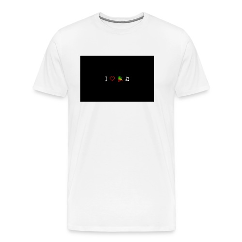 i love reggae music - Men's Premium T-Shirt