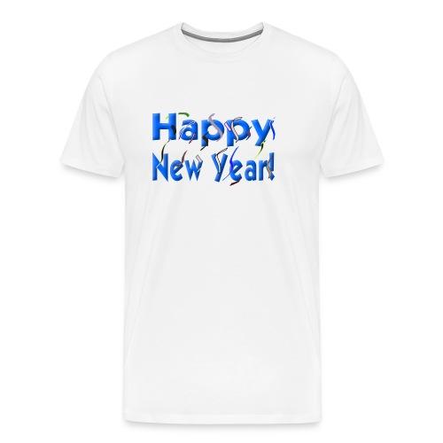 Happy New Year 2019 - Men's Premium T-Shirt