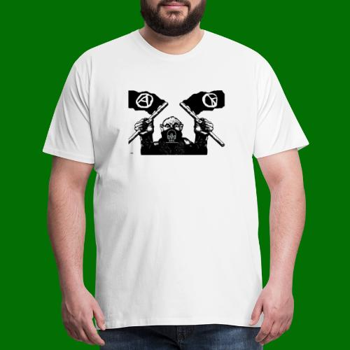 anarchy and peace - Men's Premium T-Shirt