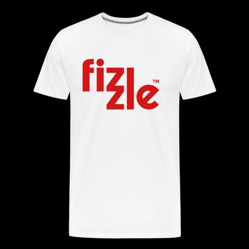 WearFizzle Logo Red - Men's Premium T-Shirt
