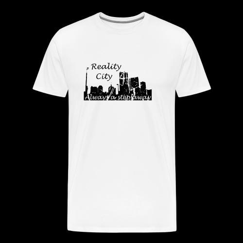 Reality City - light - Men's Premium T-Shirt