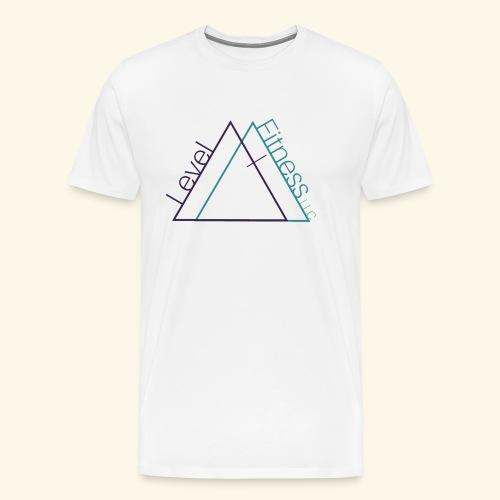 LevelFitnessLogo - Men's Premium T-Shirt