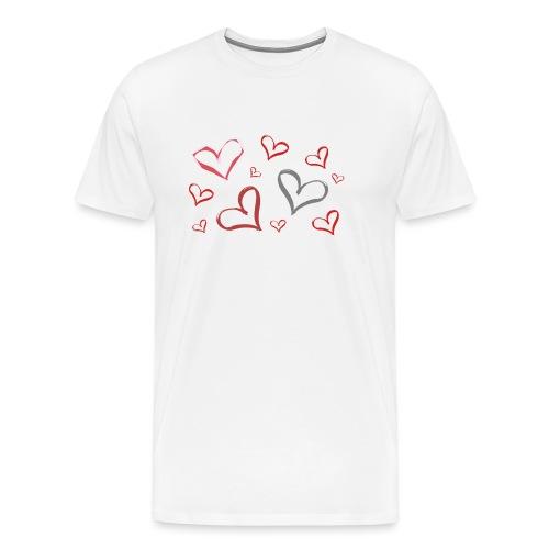 Full of Heart - Men's Premium T-Shirt