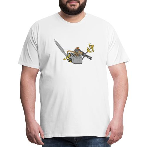 Super Toaster Flat - Men's Premium T-Shirt