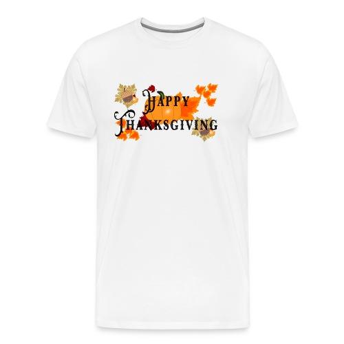 Happy Thanksgiving greeting card - Men's Premium T-Shirt