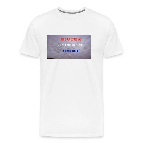Psalms 46.1 - Men's Premium T-Shirt