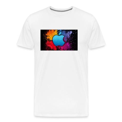 apple - Men's Premium T-Shirt