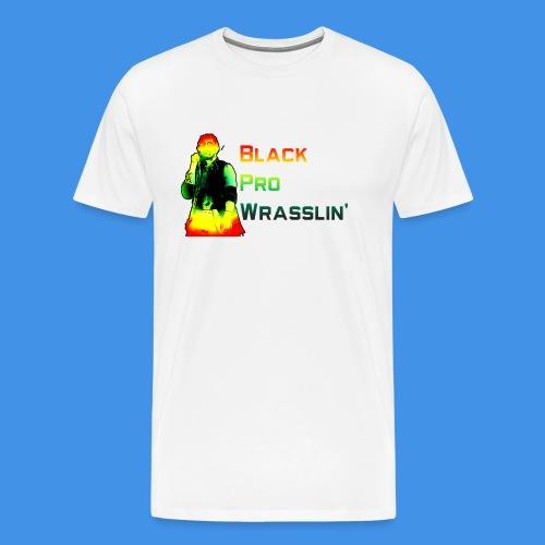 Black Pro Wrasslin - Men's Premium T-Shirt