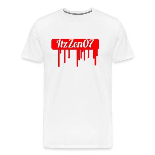 LIMITED TIME ItzZen07 Dripping Blood Halloween - Men's Premium T-Shirt