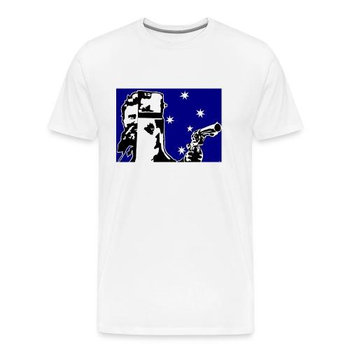 NED KELLY - Men's Premium T-Shirt