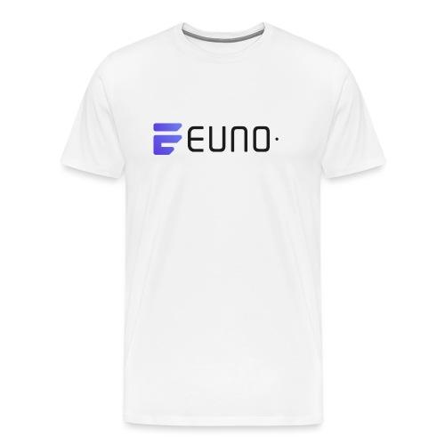 EUNO LOGO LANDSCAPE BLACK FONT - Men's Premium T-Shirt