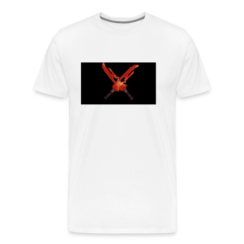 Hipixel Warlords Cross-Swords - Men's Premium T-Shirt