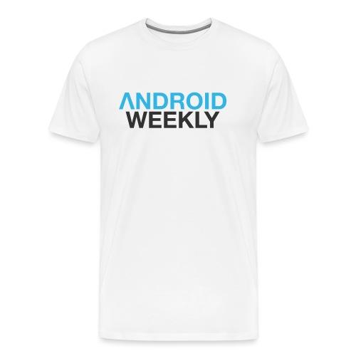 Android Weekly Logo - Men's Premium T-Shirt