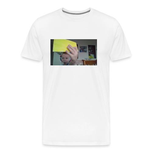 the paper golden shirt - Men's Premium T-Shirt