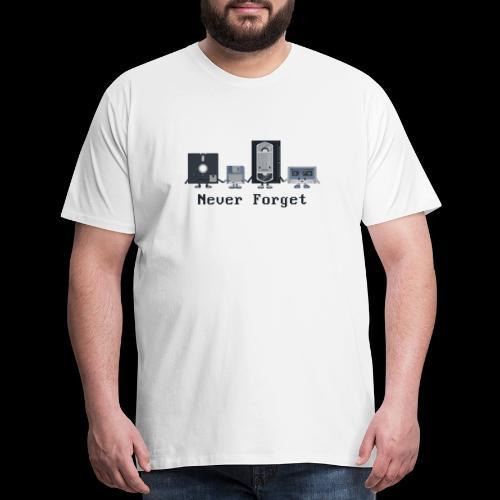 Never forget the classics - Men's Premium T-Shirt