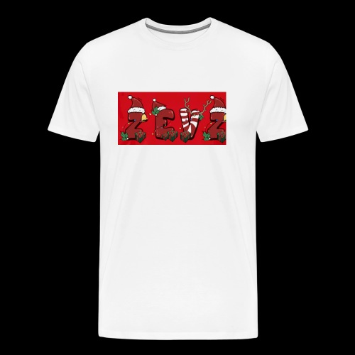 zevz chris mas merch - Men's Premium T-Shirt