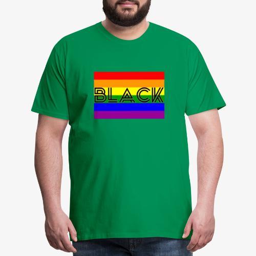 Black LGBTQ - Men's Premium T-Shirt