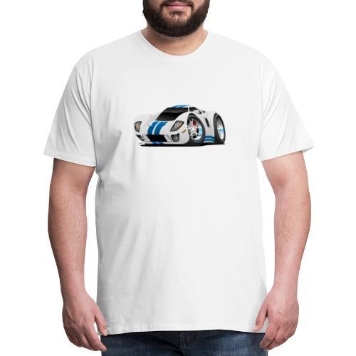 American Supercar Cartoon - Men's Premium T-Shirt