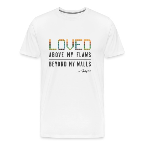LOVED! (Multicolor) - Men's Premium T-Shirt