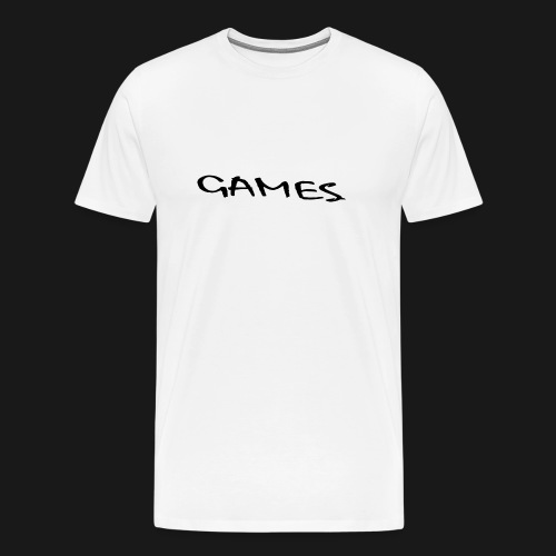 GAMES - Men's Premium T-Shirt