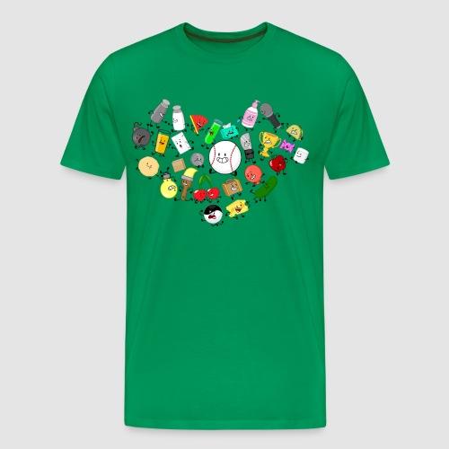 Inanimate Heart Color - Men's Premium T-Shirt