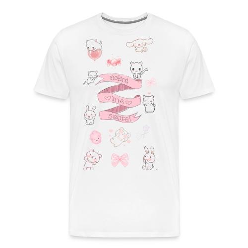 Notice Me Senpaii - Men's Premium T-Shirt