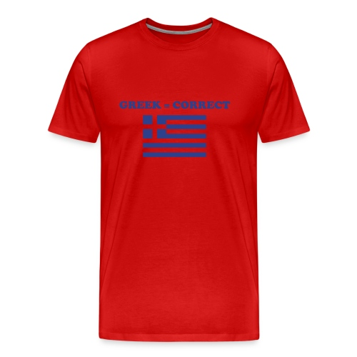 greekcorrect - Men's Premium T-Shirt