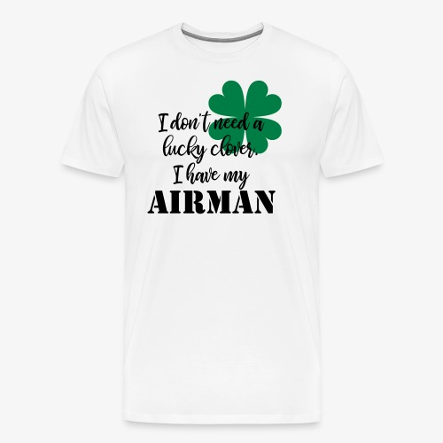 Lucky Clover Airman - Men's Premium T-Shirt