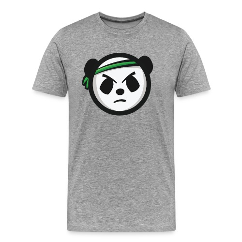 Markee Panda Logo - Men's Premium T-Shirt