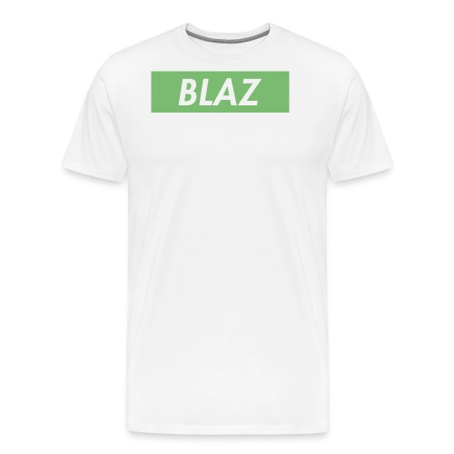 BLAZ LOGO - Men's Premium T-Shirt
