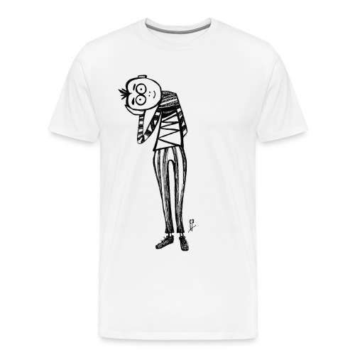 point of view black and white - Men's Premium T-Shirt