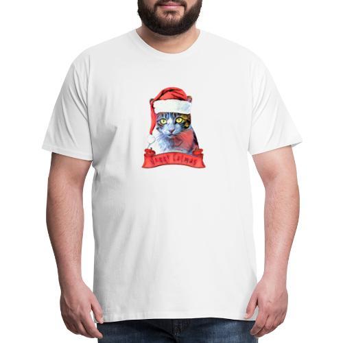 MERRY CATMAS - Men's Premium T-Shirt