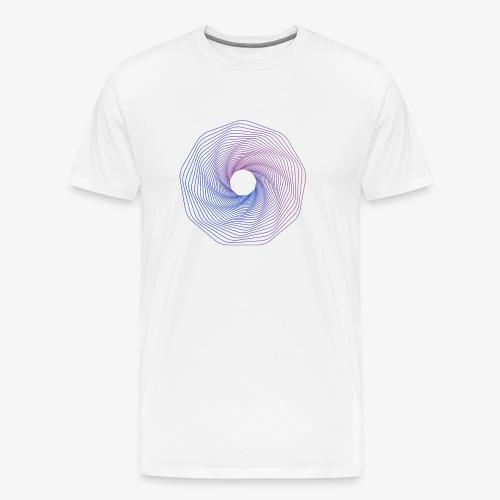 Gradient Circles 20 - Men's Premium T-Shirt