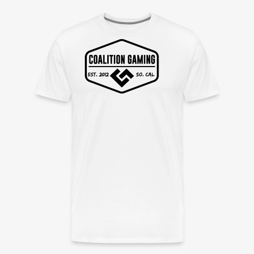 CG Black Logo - Men's Premium T-Shirt