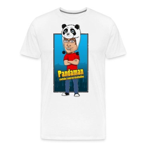 Pandaman png - Men's Premium T-Shirt