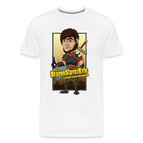 DragonSlayerKyle png - Men's Premium T-Shirt