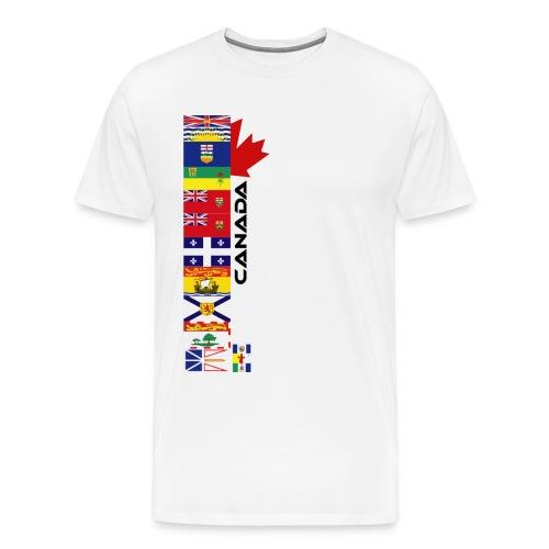 Canadian Provinces - Men's Premium T-Shirt