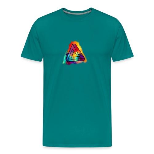 PAINT SPLASH LOGO - Men's Premium T-Shirt