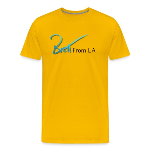 BrettFromLA for light products - Men's Premium T-Shirt