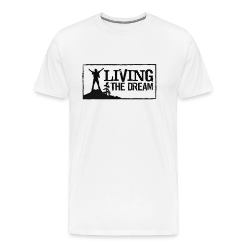 Women's Living the Dream Long-Sleeve T-Shirt - Men's Premium T-Shirt