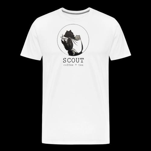 papa large logo - Men's Premium T-Shirt