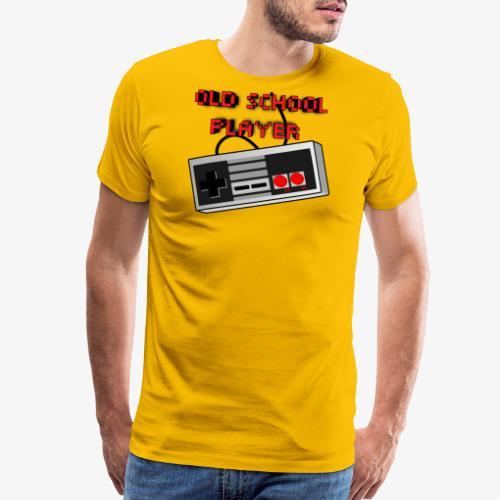Old School Player - Men's Premium T-Shirt