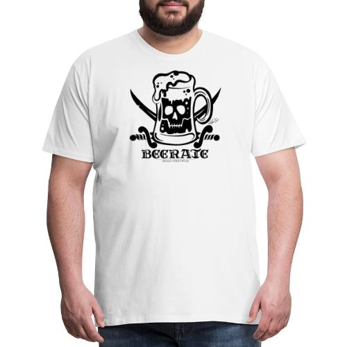 Beerate - black - Men's Premium T-Shirt