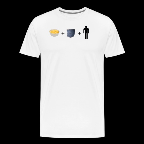 Macaroni Pocket Man Shirt - Men's Premium T-Shirt