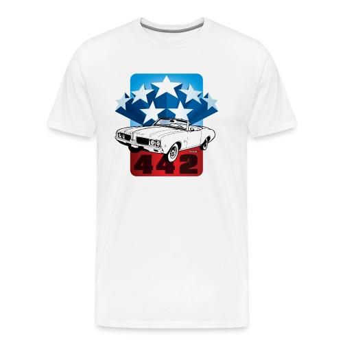 auto_oldsmobile_442_001 - Men's Premium T-Shirt