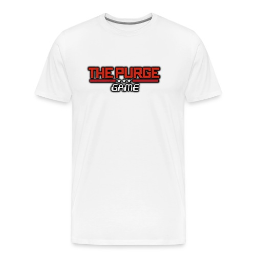 Purge Logo - Men's Premium T-Shirt