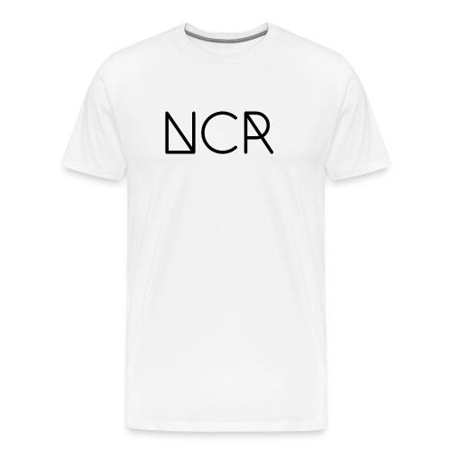 Black Logo NCR - Men's Premium T-Shirt