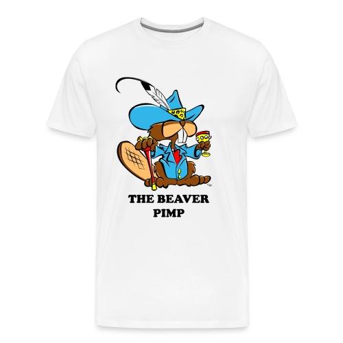 Beaver Pimp - Men's Premium T-Shirt